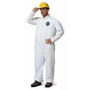 DISPOSABLE TYVEC AND 3M COVERALLS SAFETY EQUIPMENT