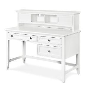 white desk with hutch. White Desk Hutch With