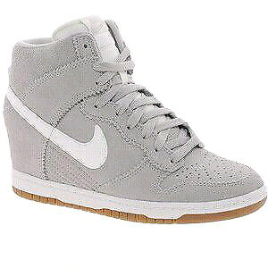 Nike Dunk Sky High Grey Wedge Trainers