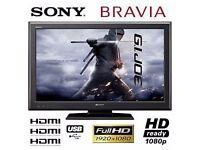 "1080P 40"" Sony Bravia LCD TV"