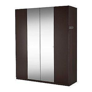 Mirrored wardrobes ebay - Ikea armoire with mirror ...