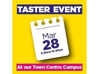 Rotherham College Town Centre Campus Taster Event