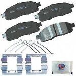 Carquest Brakes Pmd1083h Front Premium Semi Metallic Brake Pads