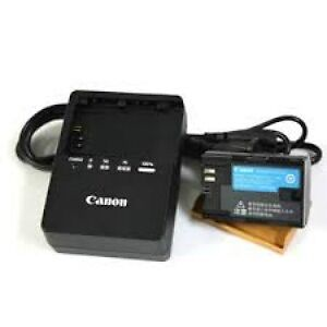 Canon LP-E6 battery and charger