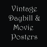 Vintage Daybill and Movie Posters