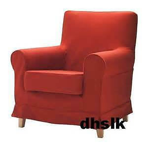 Jennylund Ikea Armchair Cover - Red - Excellent Condition