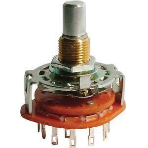 rotary switch ceramic rotary switch