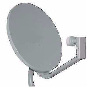 DISH, FREE TO AIR DISH, DISH, TRIPOD, WALL MOUNT BRACKET, SATELLITE WALL BRACKET, J PIPE, CHIMNEY  BRACKET, EAVE BRACKET
