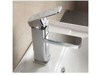 Brand New Boxed Bathroom Waterfall Chrome Bar Mixer Basin Sink Mixer Tap