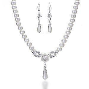 Wedding Jewelry Pearl Sets