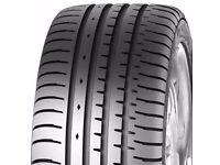 2 X BRAND NEW TYRES ACCELERA PHI 245/40ZR19 98Y XL 245 40 19 ALL SEASON TYRES FITS BMW 5 SERIES