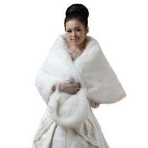 Fur shawl clothing shoes accessories ebay - Polsterstoffe fur stuhle ...