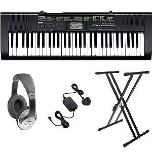CASIO KEYBOARD PACK WITH STAND, HEADPHONES & ADAPTER