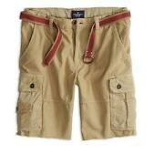 Mens American Eagle Khaki Shorts