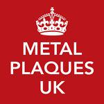 Metal Plaques UK