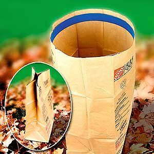 Leaf bag ring- keeps paper bag open when filling