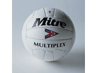 Wanted, early Mitre football, multiplex etc, as new.