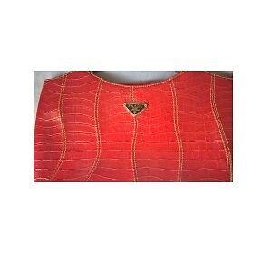 1d69259706 Description. Brand new Prada Milano dal 1913 red handbag in excellent  condition
