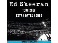 Ed Sheeran Tickets - SUNDAY 10th in Newcastle - Great seats! Plans have changed and can no longer go