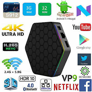 FULL PROGRAMMED ANDROID TV BOX IPTV IP TV BOITE TELE KODI