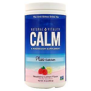 Peter Gillham's Natural Vitality Calm Plus Calcium Raspberry