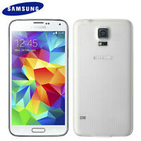 Samsung Galaxy S5 Unlock White + Otterbox Case