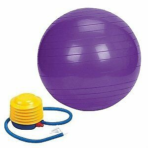 FOR SALE: P T FITNESS BALL & AB ROLLER $5.00 EACH.
