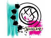 Two Blink 182 AECC 12 July Tickets