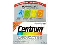 Centrum Advance Multivitamin 30 Tablet Used Only 2 Tablets