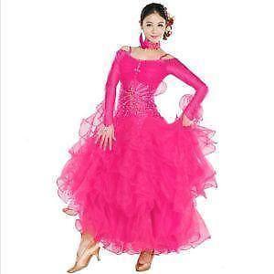 Ballroom Dance Dress Ebay