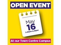 Rotherham College Town Centre Campus Open Event