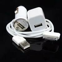 chargeur 3 en 1 iPhone 3G/3GS/4G/4S/iPod touch