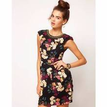 RIVER ISLAND FLORAL COCCOON DRESS (SIZE 12) - WORN ONCE! Hamilton Newcastle Area Preview