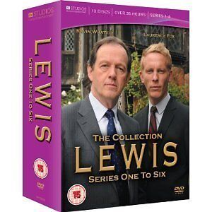 LEWIS SERIES 1-6 COMPLETE DVD BOX SET NEW SEASONS 1 2 3 4 5 6 SEASONS