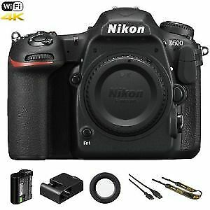 Camera Nikon D500 / D 500 20.9 MP 4K WiFi DSLR Camera