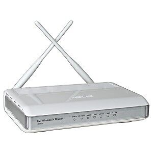 ASUS 150Mbps 802.11n MIMO Wireless LAN/Firewall 4-Port Router