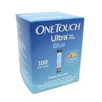 (4 boxes) One Touch Ultra blue 100 514 465-6339