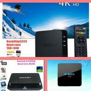 Weekly Promo! Original Android TV Box, Android Box, Android Smart TV,H.265 4K HD Media Player,h