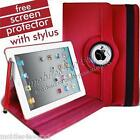 Red Leather iPad 2 Cover