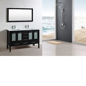 "*WOW*  IN STOCK 60"" BATHROOM VANITY ON SALE!! LIMITED QUANTITY!"
