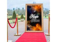 Magic Mirror Selfie Pod Photo Booth Hire - Wedding, Party & Event Hire - Throughout Sussex & Kent