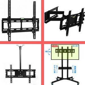 Weekly Promo! TV Wall Mount Bracket, TV Stand, Ceiling TV Mount, DVD Shelf start from $9.99 and up.