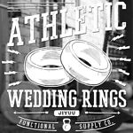JIYUU Athletic Wedding Rings