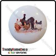 Rooster Cabinet Knobs