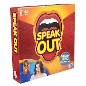 Speak Out Game by Hasboro - Factory Sealed Brand New