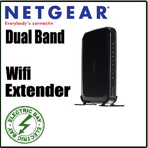 Netgear WN2500RP Universal Dual Band WiFi Range Extender 4-port WiFi Adapter