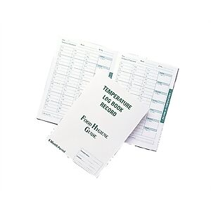 Six Month Record Log Book