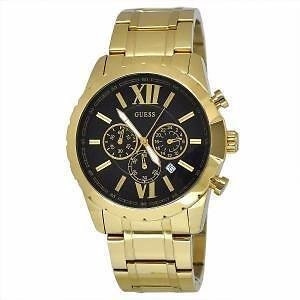 Guess Optic Gold Watch W0193G1