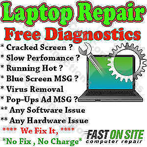 APPLE MACBOOK ,LAPTOP REPAIR FAST FIX SERVICES Free Estimate