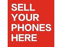 iPhones and Samsung phones wanted